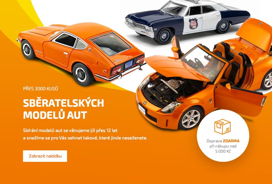 Modely aut a hračky