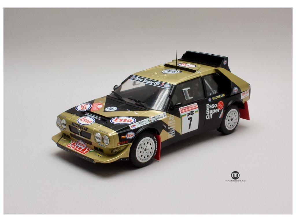 Lancia Delta S4 1986 #7 Rally San Remo 1 18 Triple9 Collection 1800215 01