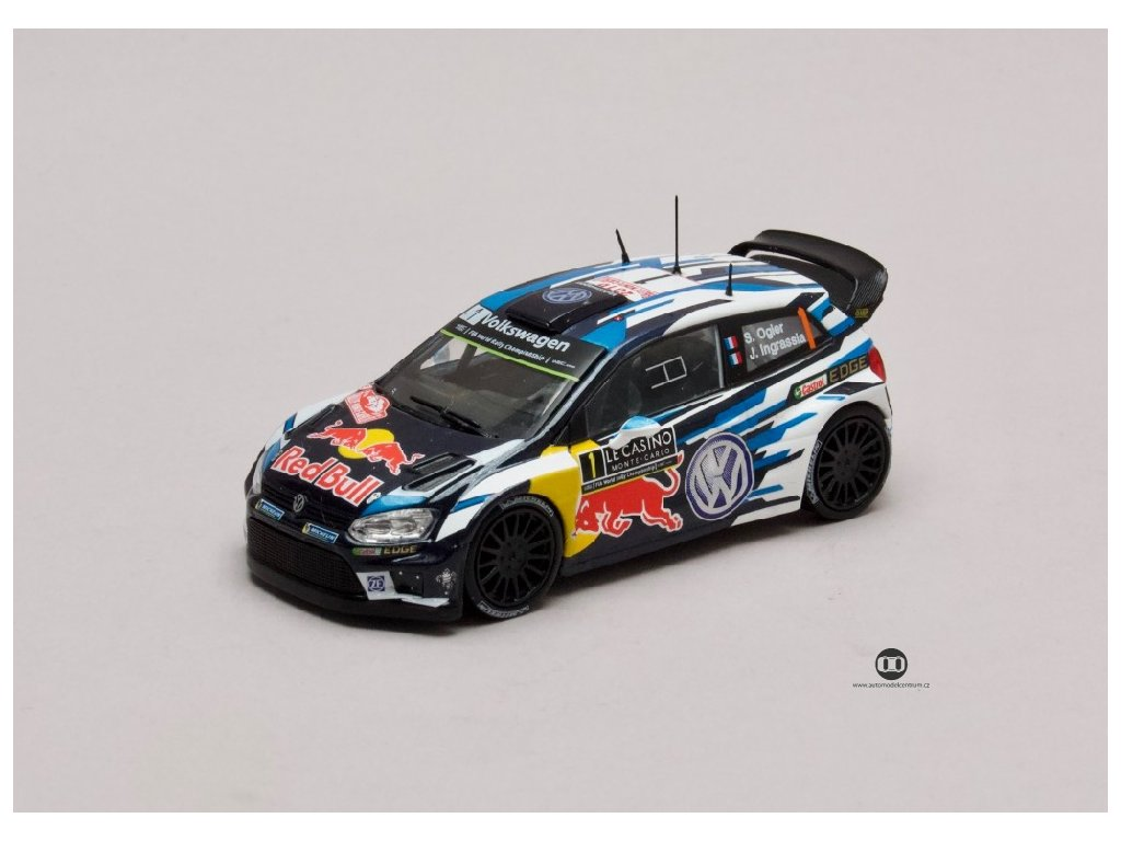 VW Polo R WRC #1 Rally Monte Carlo 2016 1 43 Champion 01