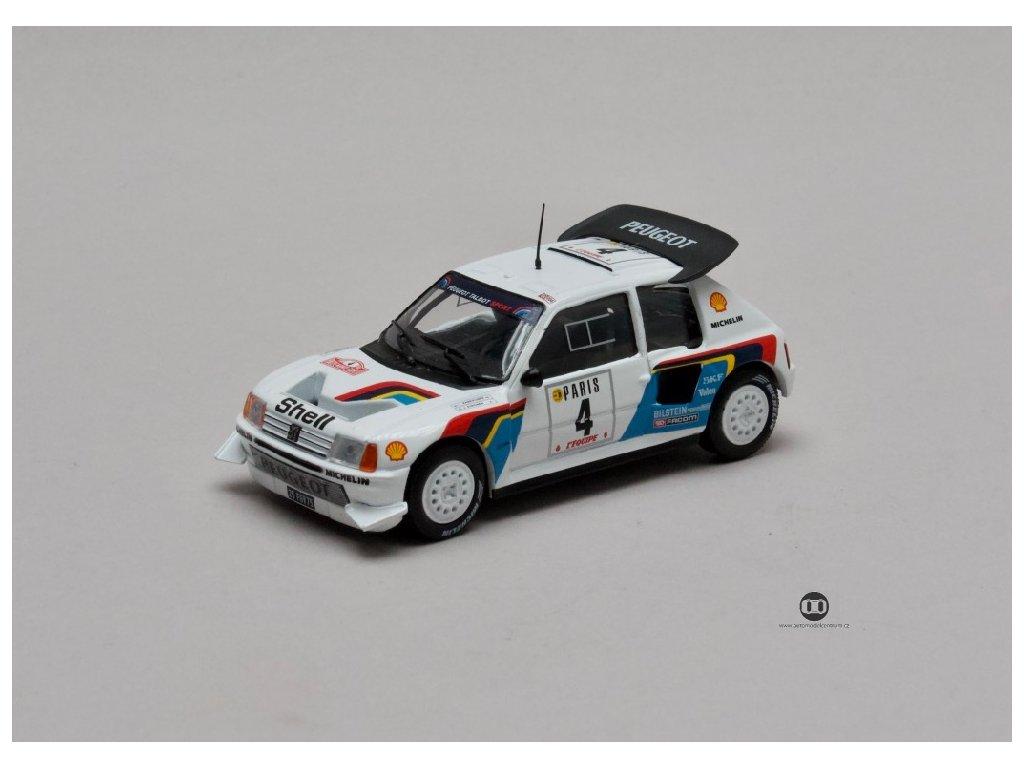 Peugeot 205 Turbo 16 E2 Rally Monte Carlo 1986 1 43 Champion 01