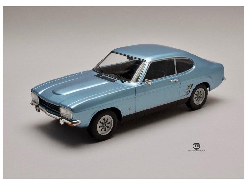 Ford Capri MKI 1600 XL 1973 metalíza modrá 1 18 MCG 18084 01