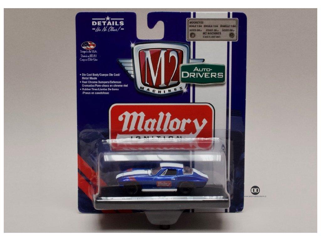 Chevrolet Corvette 4271966 %22Mallory%22 1 64 M2 Machines 11228 55 01