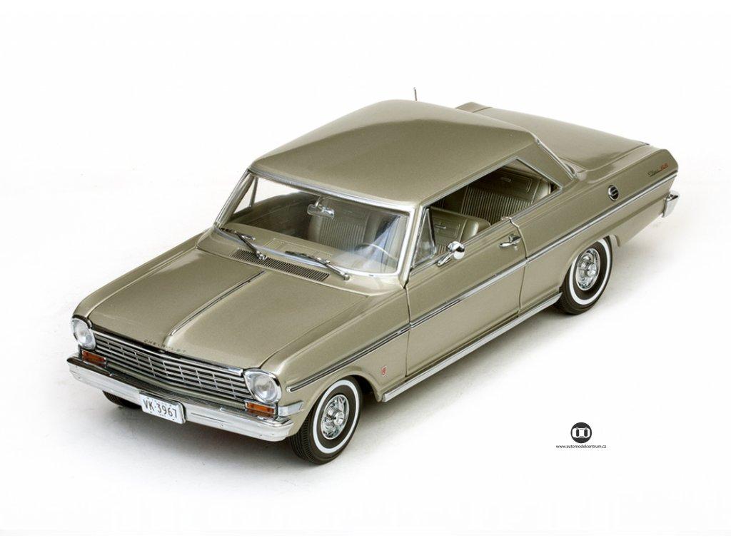 Chevrolet Nova 1962 zlatá 1 18 Sun Star 3967 01