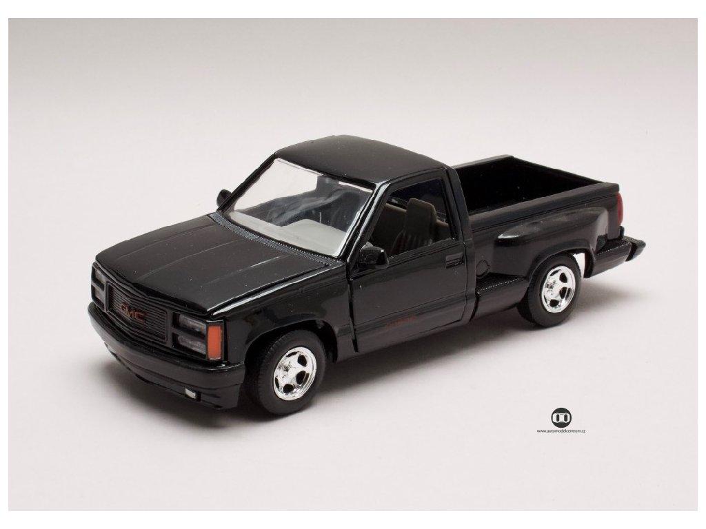 GMC Sierra GT Pick Up černá 1 24 Motor Max 73204 01