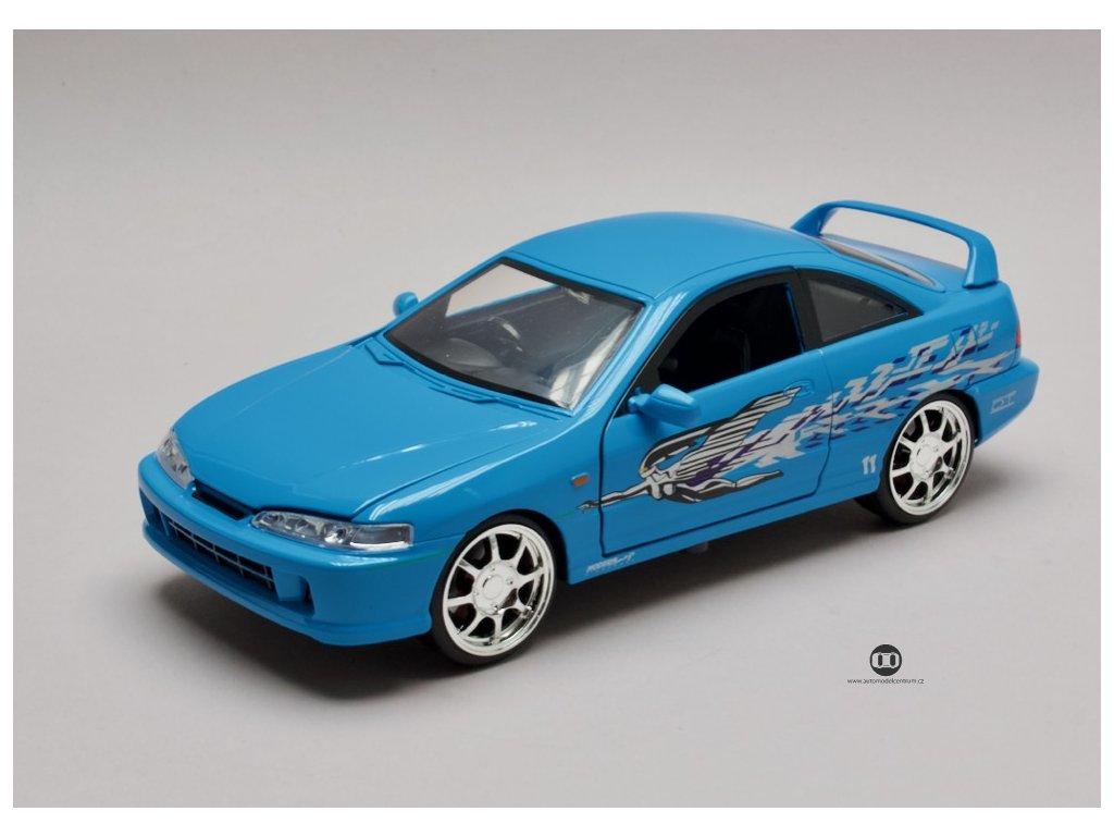 Honda Integra type R 1995 Mia`s Rychle a zb. (Fast & Furious) 1 24 Jada Toys 30739 01