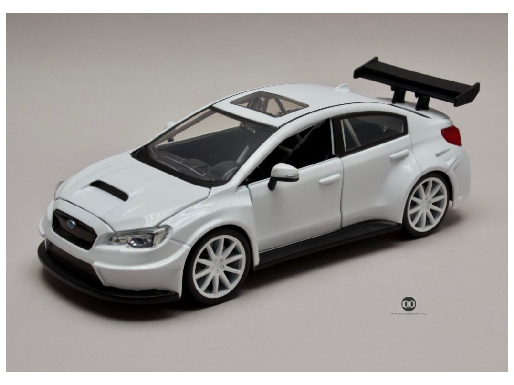 Subaru WRX Sti Little Nobody`s Rychle a zb. (Fast & Furious) 1 24 Jada Toys 98296 01
