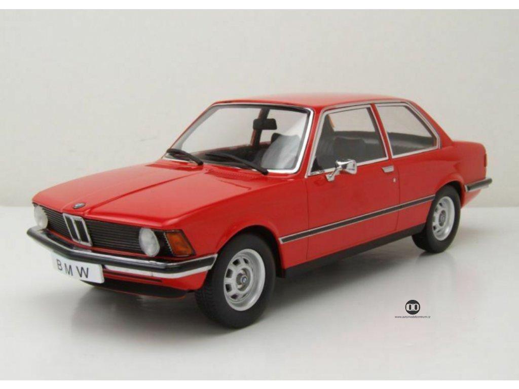 BMW 318i E21 1975 červená 1 18 KK scale KKDC180041 02