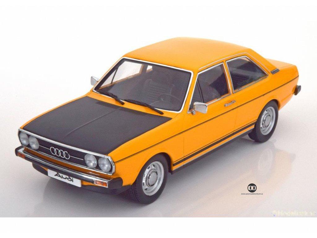 Audi 80 GTE B1 1972 oranžovo černá 1 18 KK scale KKDC180031 01