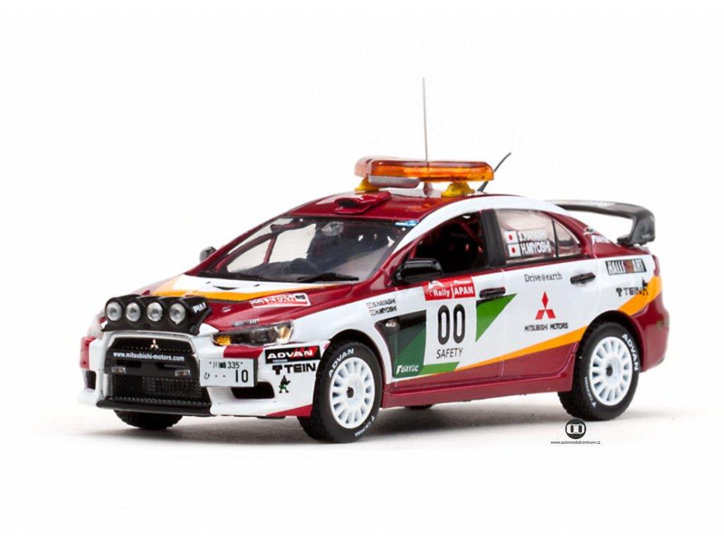 Mitsubishi Lancer EVO X #00 Rally Japan 2008 1 43 Vitesse 43442 01