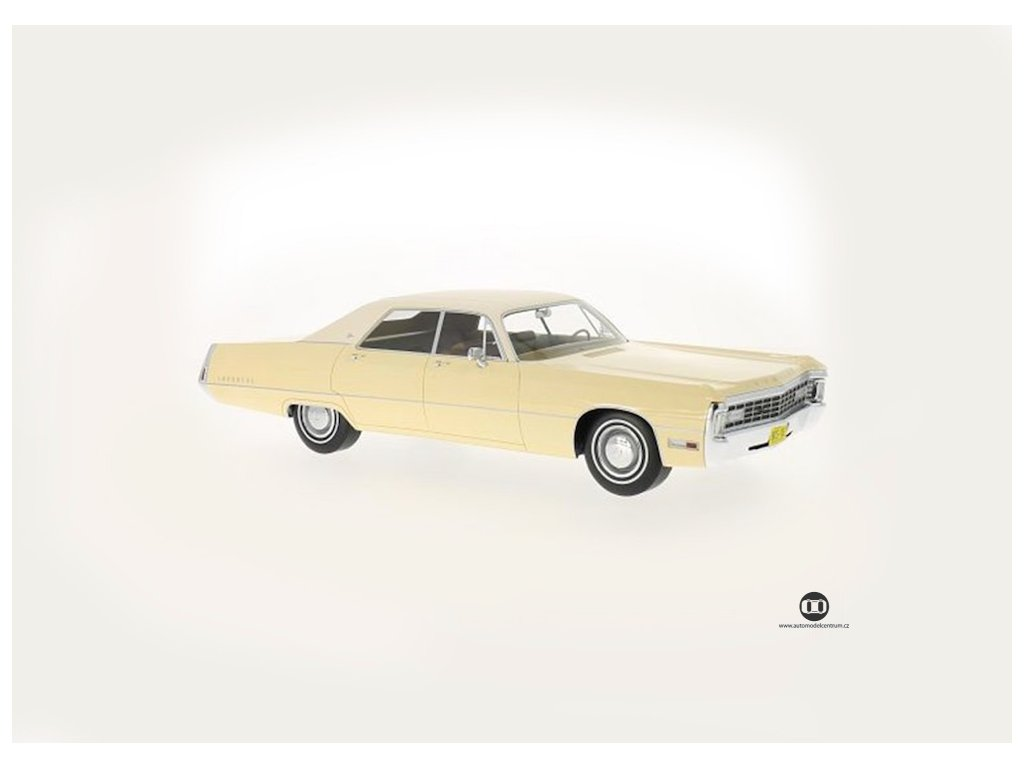 Chrysler Imperial LeBaron 1971 4dvéř Hard top béžová 1 18 BoS Models BoS182 01