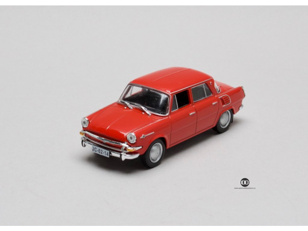 Škoda 1000 MB červená 1:43 Car Selection