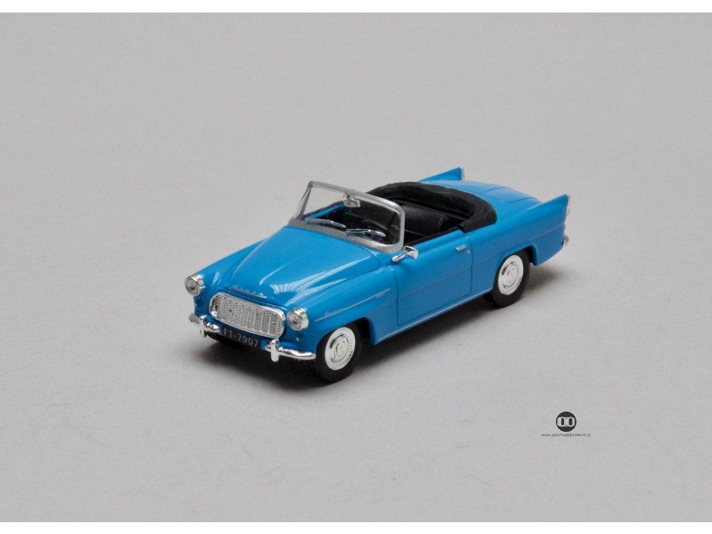 Škoda Felicia 1960 modrá 1:43 Car Selection