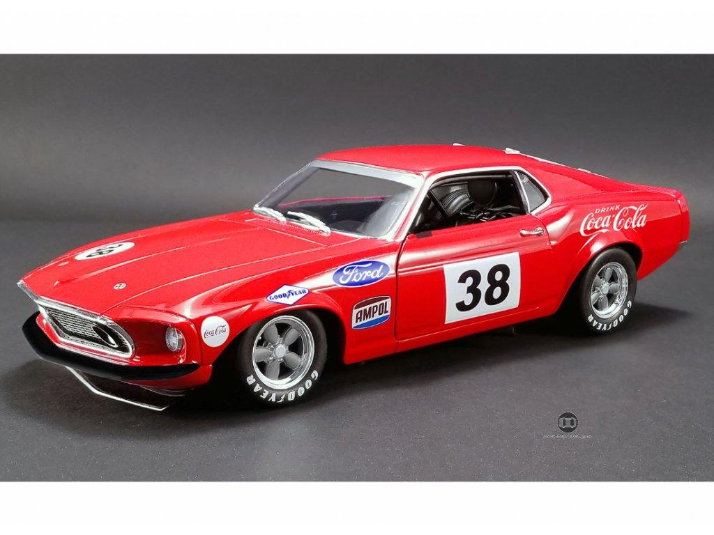Ford Boss 302 Trans Am Mustang 1969 #38 Allen Moffat's 1 18 ACME 1801828 01