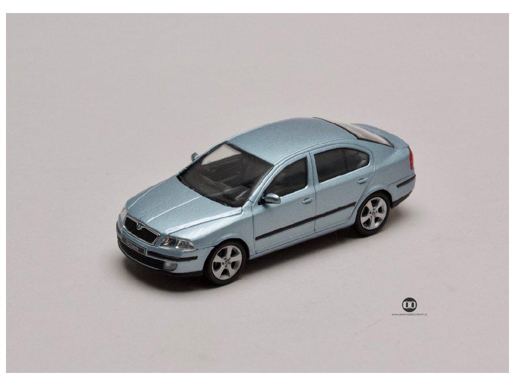 Škoda Octavia II 2004 šedá Stone metalíza 1 43 Abrex 143AB 001P 01