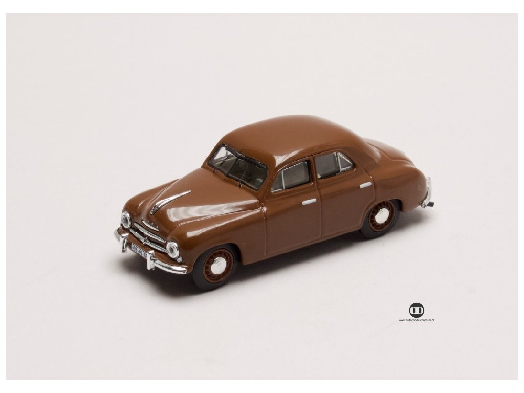 Škoda 1201 1956 hnědá 1 43 Abrex 143ABS 711RF 01