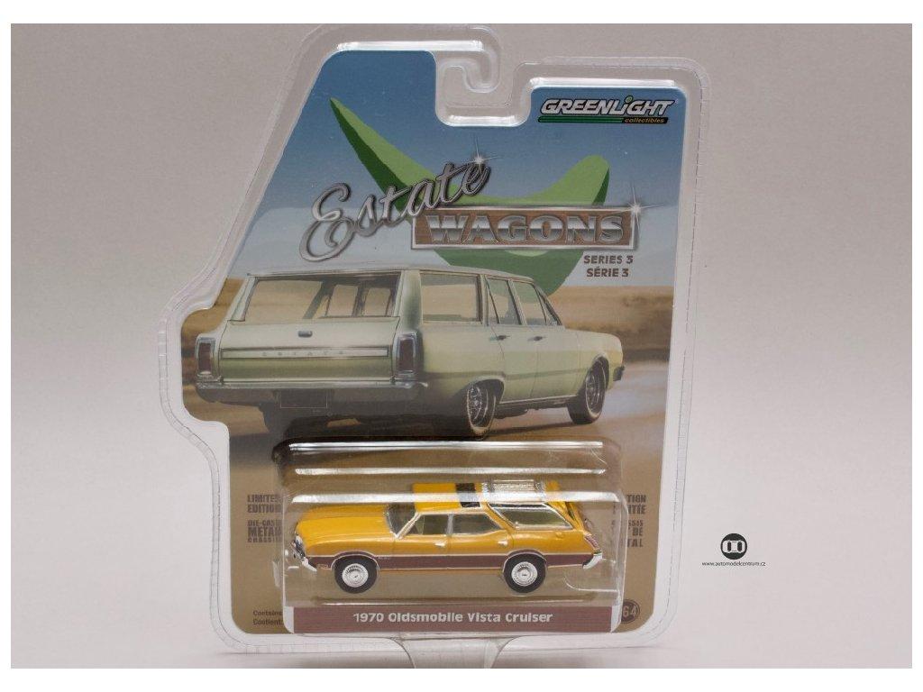 Oldsmobile Vista Cruiser 1970 %22Estate Wagons%22 1 64 Greenlight 29950 C 01