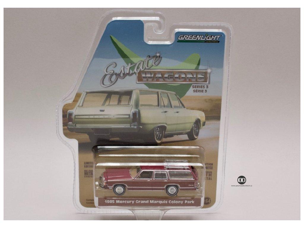 Mercury Grand Marguis Colony Park 1985 %22Estate Wagons%22 1 64 Greenlight 29950 F 01