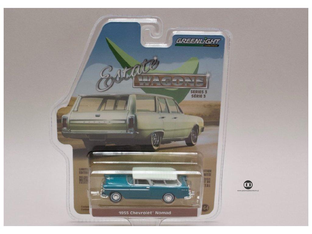 Chevrolet Nomad 1955 %22Estate Wagons%22 1 64 Greenlight 29950 A 01