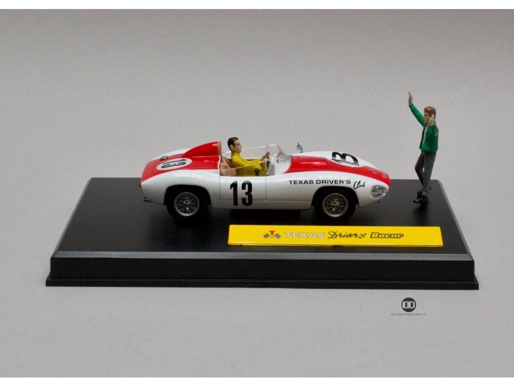 "Texas Drivers Bocar # 13 ""Michel Vaillant series"" 1:43 Altaya"