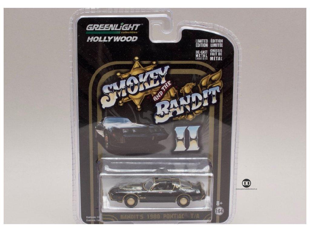 Pontiac Trans Am 1980 Smokey and the bandit II 1 64 Greenlight 44710 B 01