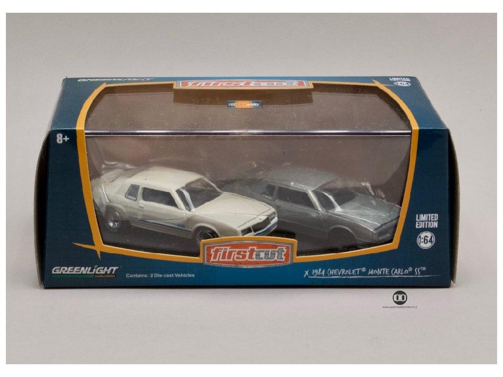 Chevrolet Monte Carlo SS 1981 84 2 kusy 1 64 Greenlight 29829 01