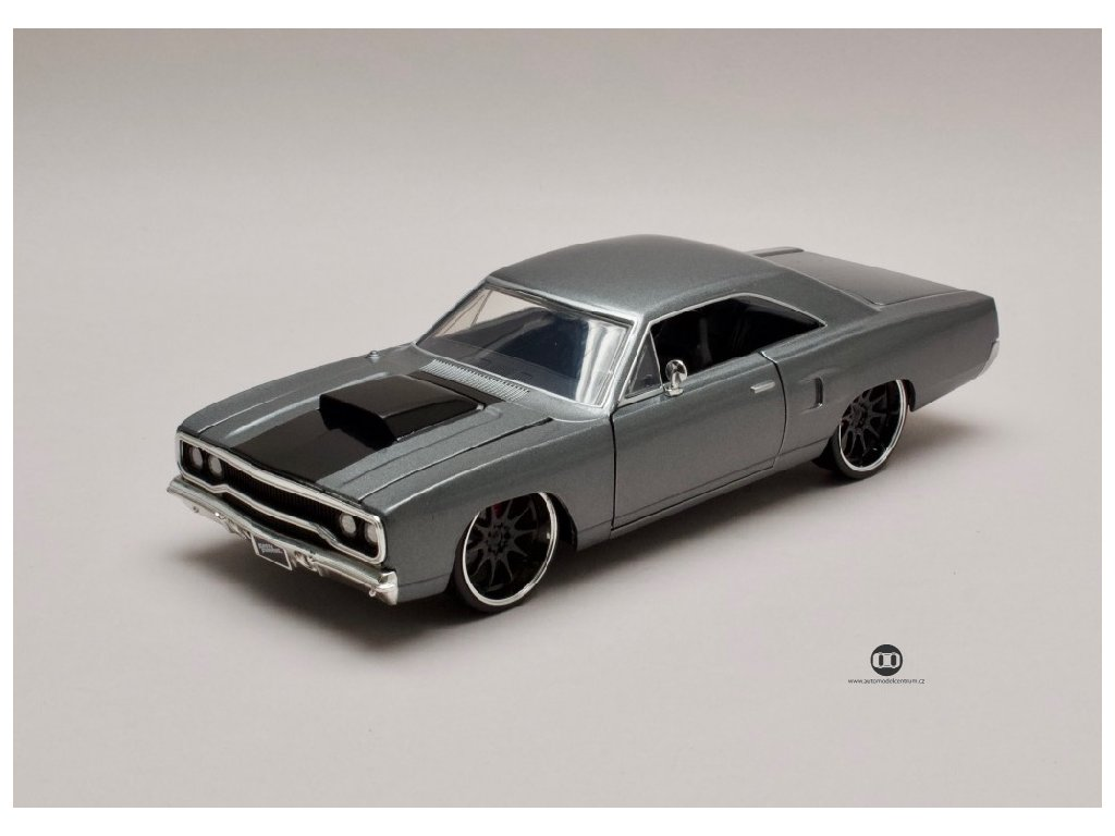 Plymouth Road Runner 1970 Dom¨s Rychle a zb. (Fast & Furious) 1 24 Jada Toys 30745 01