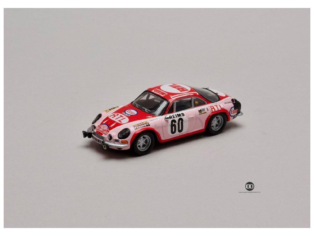Renault Alpine A110 #60 Rally Monte Carlo 1972 1 43 Atlas 01