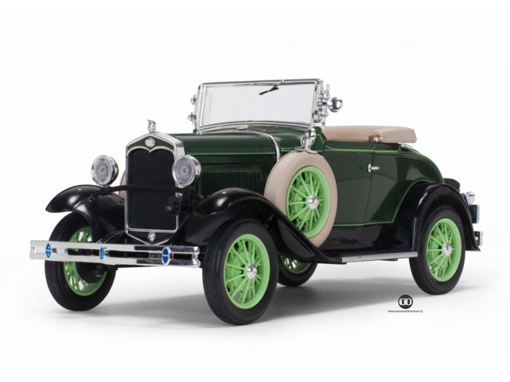 Ford Model A 1931 Roadster zelená černá 1 18 Sun Star 6123 01
