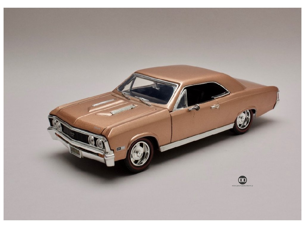 Chevrolet Chevelle SS 396 1967 hnědobronzová 1 18 Motor Max 73104 01