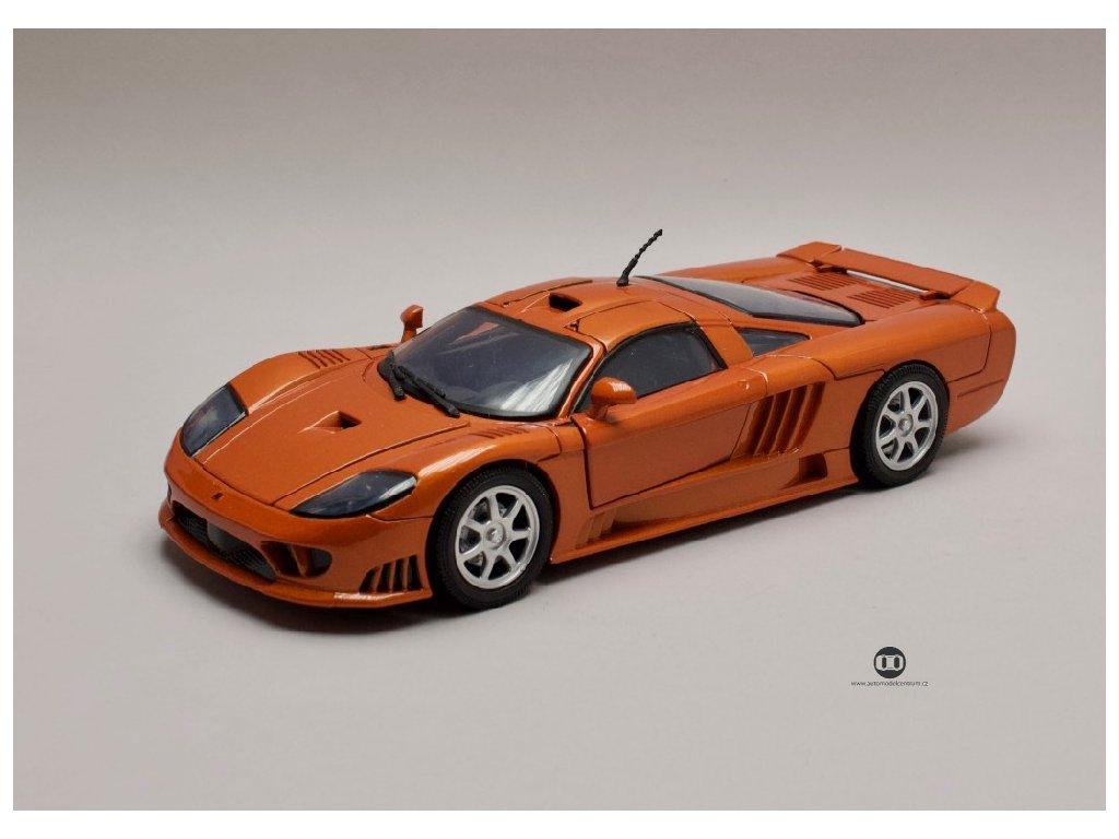 Saleen S7 oranžovo hnědá 1 18 Motor Max 73117 01