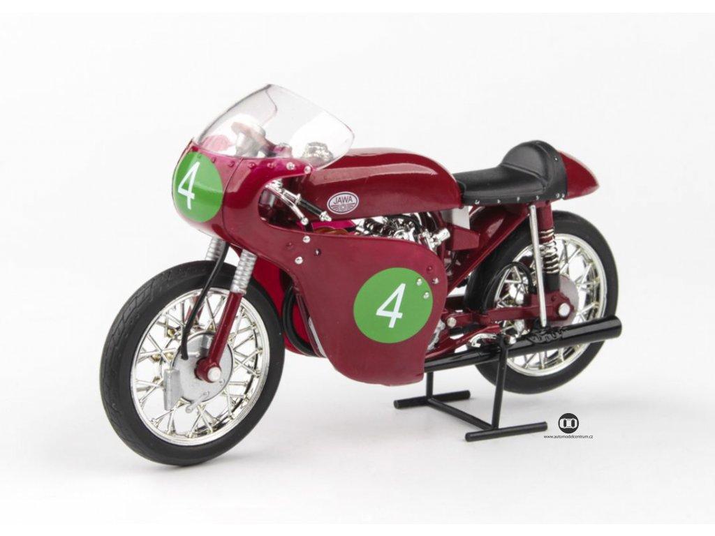 Jawa 250R 2xOHC 1961 # Havel Velká Cena Českoslovencka Brno 1961 1 18 Abrex 100118M 004 4 01