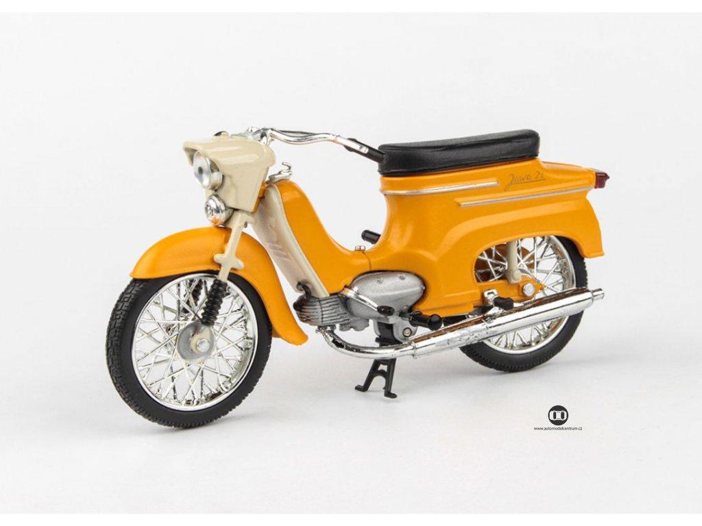 Jawa 50 Pionýr typ 21 1967 žlutohnědá 1 18 Abrex 100118M 011j 01