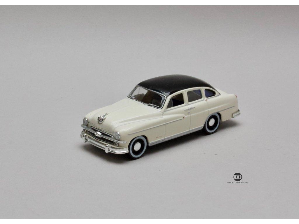 Ford Vedette Vendome 1954 bílá-černá střecha 1:43 Atlas