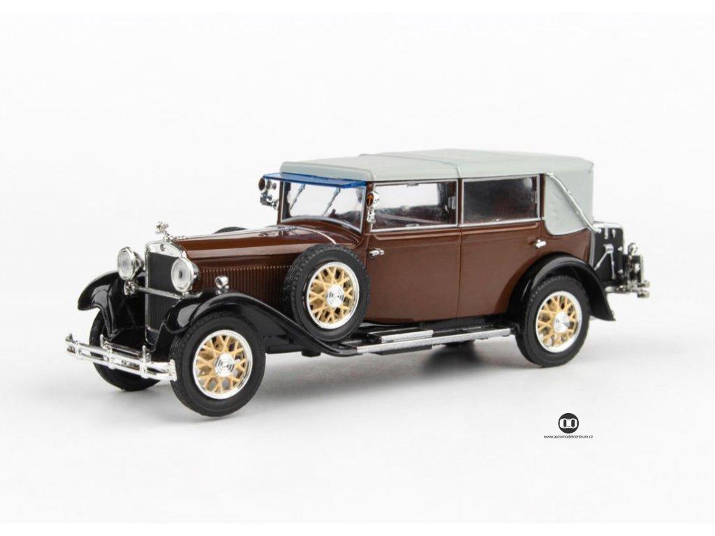 Škoda 860 1932 hnědá 1 43 Abrex 143ABH 905RF 01