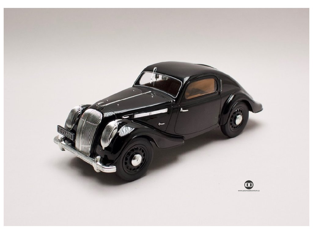 Škoda Popular Sport Monte Carlo 1937 černá 1 18 i scale 11800030 01