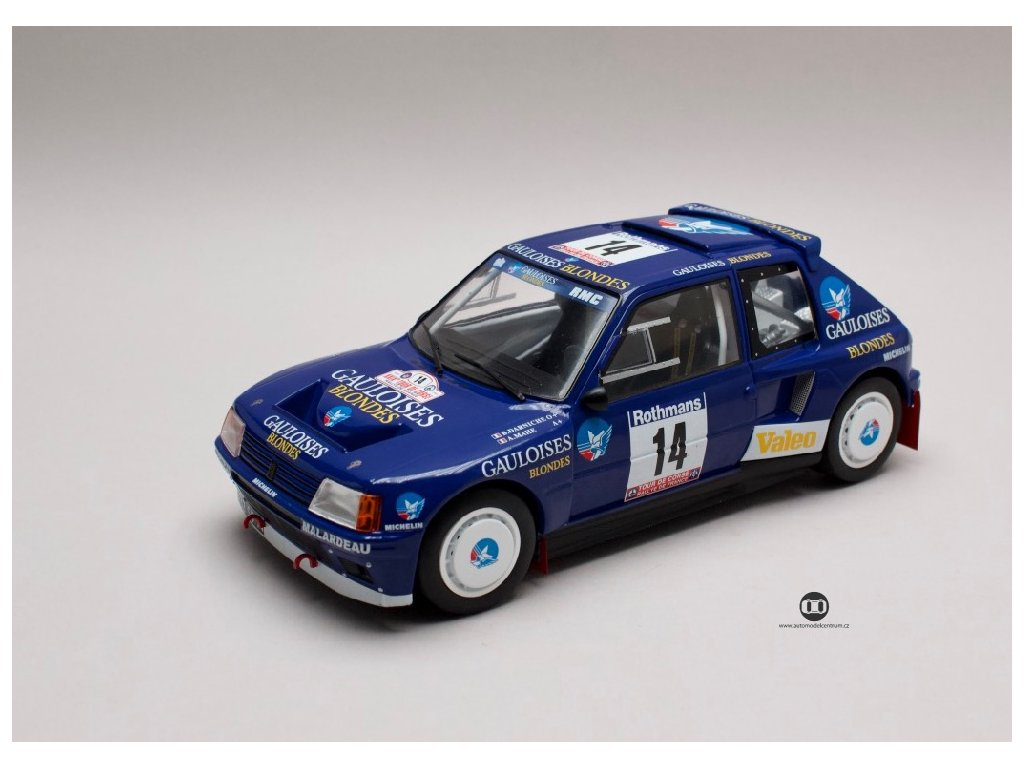 Peugeot 205 T16 #14 Tour de Corse 1985 1 18 Triple9 Collection 1800205 01
