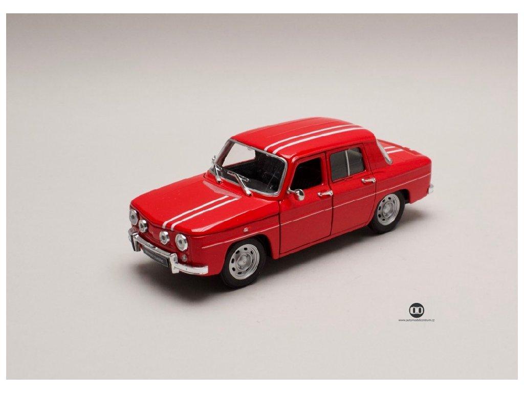 Renault R8 Gordini 1964 červená 1 24 Welly 24015 01