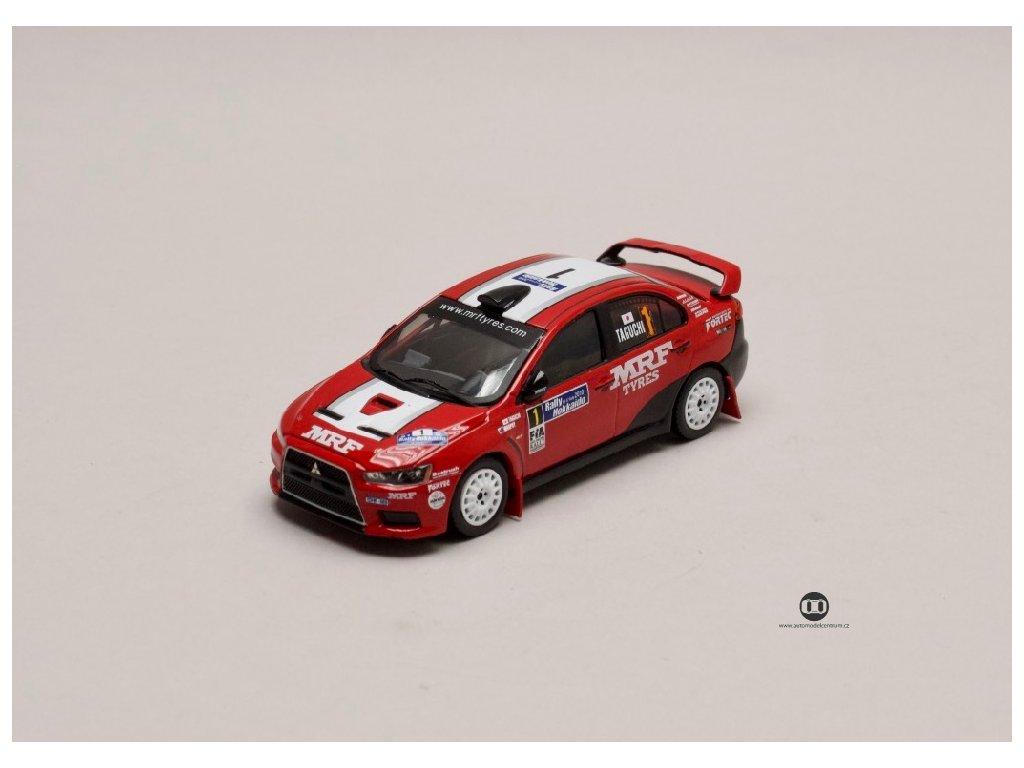 Mitsubishi Lancer EVO X #1 Rally Jhollaido 2010 1 43 IXO KB1046 01