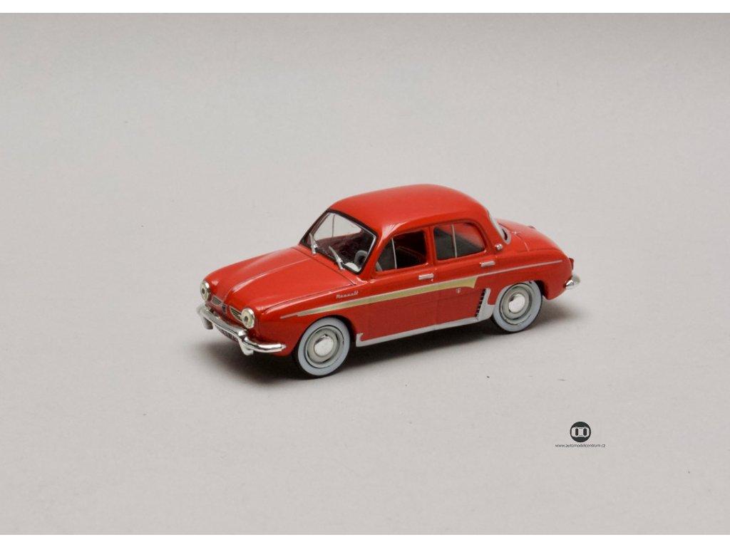 Renault Dauphine 1960 červená 1:43 Atlas