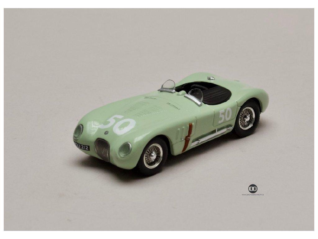 Jaguar C Type #50 Stirling Moss GP Reims 1952 1 43 Atlas 01