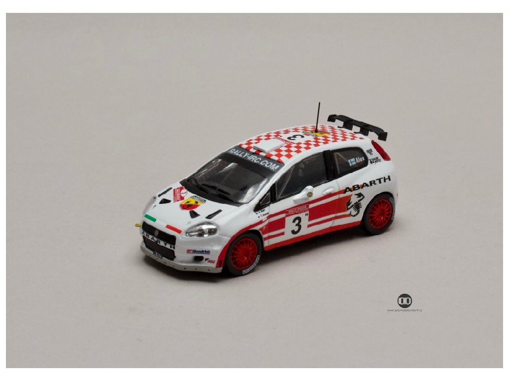 Fiat Sbarth Grande Punto S2000 #3 Rally de Rusia 2007 1 43 Champion 01
