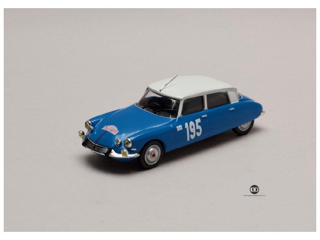 Citroen DS 21 #195 Rallye Monte Carlo 1966 1 43 Champion 01