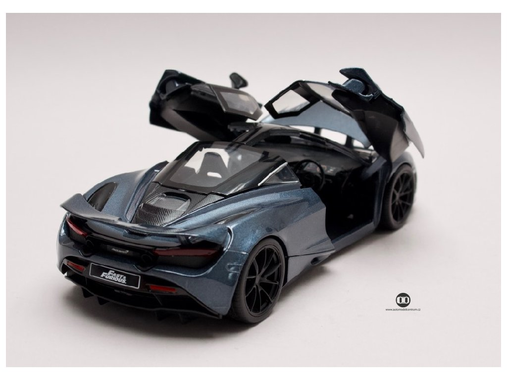 McLaren 720s Hobbs & Shaw 2018 Rychle a zb. (Fast & Furious) 1 24 Jada Toys 30754 04