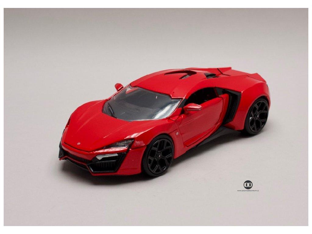 Lykan Hypersport 2014 Rychle a zb. (Fast & Furious) 1 24 Jada Toys 97377 01