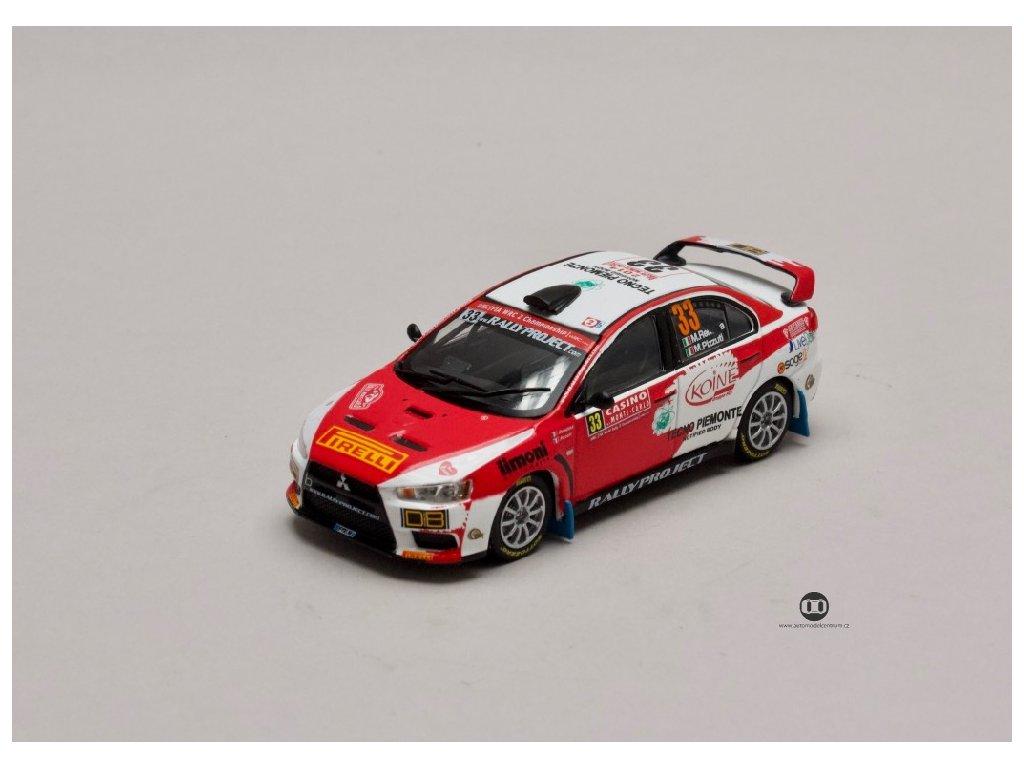 Mitsubishi Lancer EVO X #33 Rally Monte Carlo 2014 1 43 Champion 01