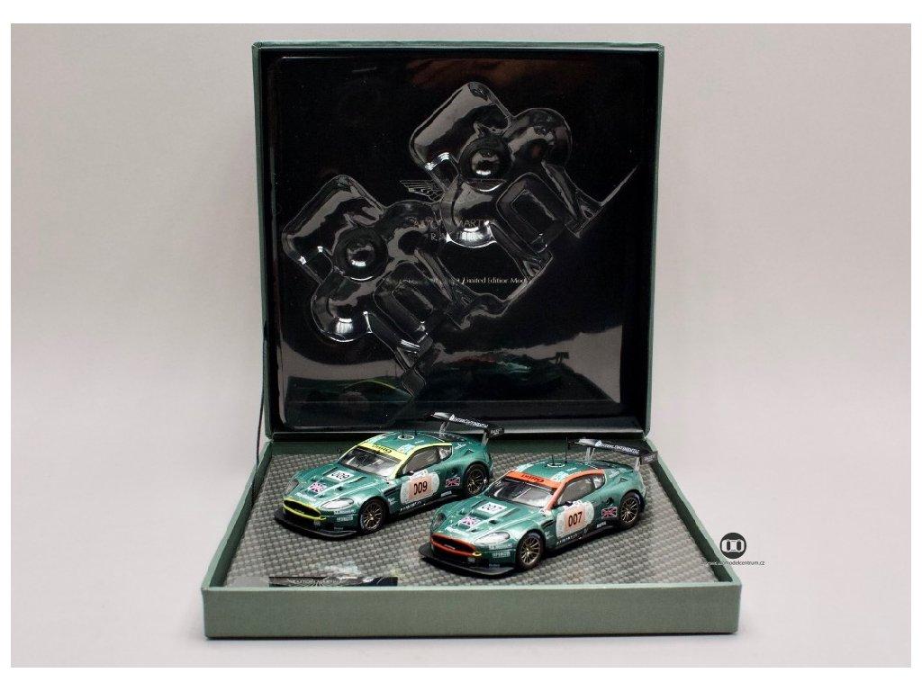 Aston Martin DBR9 Le Mans 2006 #007 & #009 set British Racing 1 43 IXO AO1MC2 01