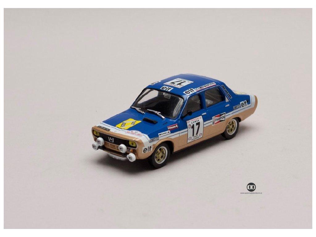 Renault 12 Gordini #17 Tour de Corse 1975 1 43 Atlas 01