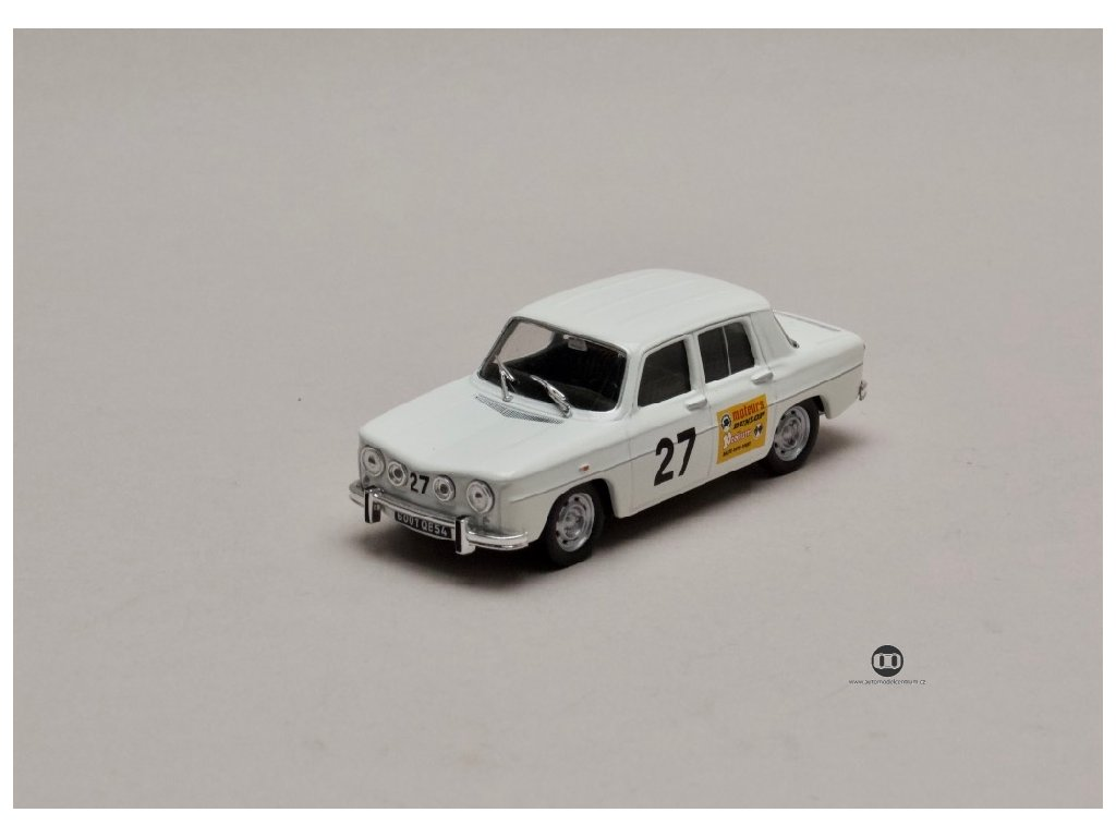 Renault 8 Gordini Coupe 1968 #27 1 43 Atlas 01