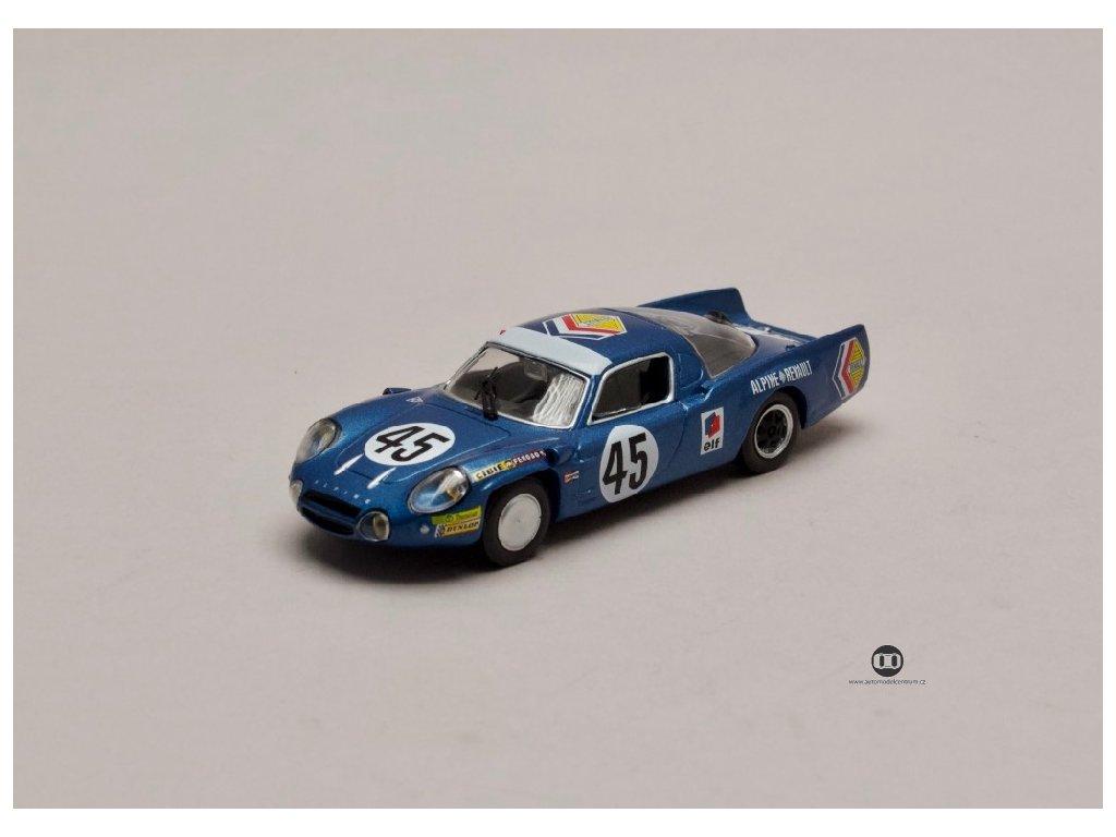 Renault Alpine A 210 #45 24 hodin Le Mans 1969 1 43 Atlas 01