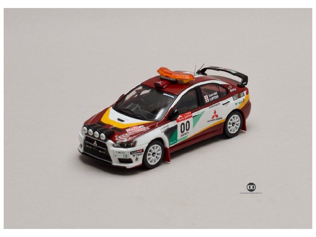 Mitsubishi Lancer EVO X Rally Japan #00 Safety Car 2008 1 43 IXO KB 1048 01
